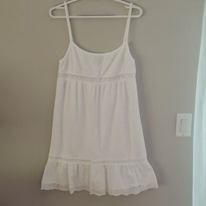 Juicy Couture terrycloth white dress/coverup